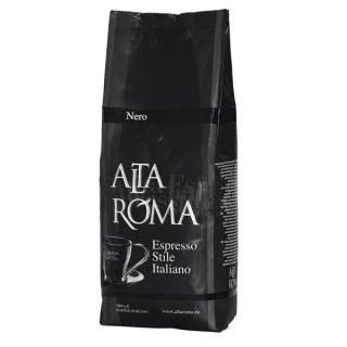 Alta Roma Nero (Альта Рома Неро), кофе в зернах (1кг), кофе в офис, вакуумная упаковка и кофемашина с автоматическим капучинатором, за мкад