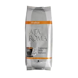 Alta Roma Arabica (Альта Рома Арабика), кофе в зернах (1кг), вакуумная упаковка и кофемашина с автоматическим капучинатором