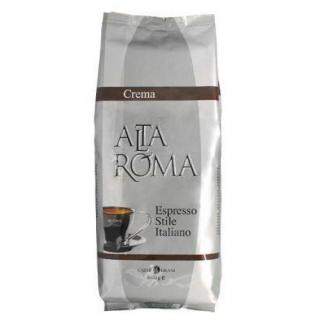 Alta Roma Crema (Альта Рома Крема), кофе в зернах (1кг), вакуумная упаковка и кофемашина с автоматическим капучинатором