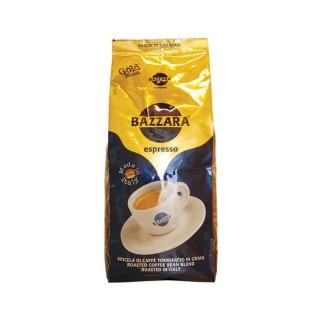 Bazzara Gold (Бадзара Голд), кофе в зернах (1кг), вакуумная упаковка и кофемашина с автоматическим капучинатором