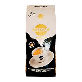 Bazzara Top Class (Бадзара Топ Класс), кофе в зернах (1кг), вакуумная упаковка и кофемашина с автоматическим капучинатором