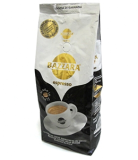 Bazzara Kenya AA (Бадзара Кения), кофе в зернах (1кг), вакуумная упаковка и кофемашина с автоматическим капучинатором