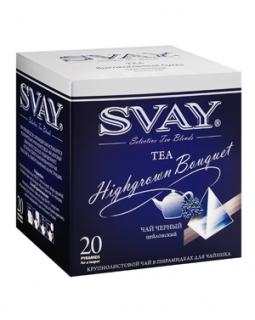 Чай Svay Highgrown Bouguet (Высокогорный букет) Для чайников (20 пирамидок по 4гр.)