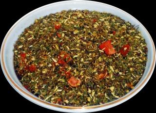 Чай Ройбос HANSA TEA Клубника со сливками, 500 г, фольгированный пакет, купить чай