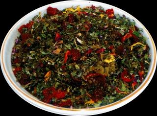 Чай травяной HANSA TEA Сердце Алтая, 500 г, фольгированный пакет, крупнолистовой с травами чай, купить чай с травами