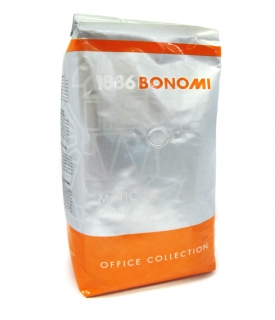 Bonomi Matic (Бономи Матик) кофе в зернах (1кг), вакуумная упаковка (доставка кофе в офис)