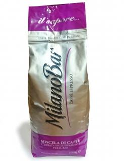 Bonomi Milano Bar (Бономи Милано Бар) кофе в зернах (1кг), вакуумная упаковка (доставка кофе в офис)
