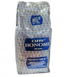 Bonomi Decaffeinato (Бономи Декаффинато) кофе в зернах (1кг), вакуумная упаковка (доставка кофе в офис)