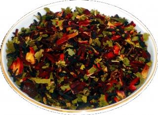 Чай травяной HANSA TEA Тонизирующий, 500 г, фольгированный пакет, крупнолистовой с травами чай, купить чай с травами