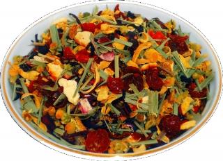 Чай травяной HANSA TEA Альпийский луг, 500 г, фольгированный пакет, крупнолистовой с травами чай, купить чай с травами