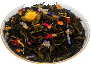 Чай черный HANSA TEA 1001 ночь, 500 г, фольгированный пакет, крупнолистовой ароматизированный чай, купить чай