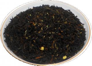 Чай черный HANSA TEA Эрл Грей жасмин, 500 г, фольгированный пакет, крупнолистовой  чай, купить чай