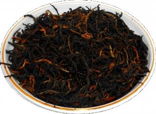 Чай черный HANSA TEA Красный чай с земли Динь (Дянь Хун), 500 г, фольгированный пакет, крупнолистовой индийский чай, купить чай
