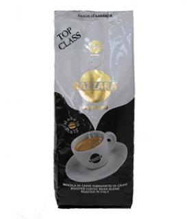Bazzara Top Class (Бадзара Топ Класс), кофе в зернах (1кг), вакуумная упаковка