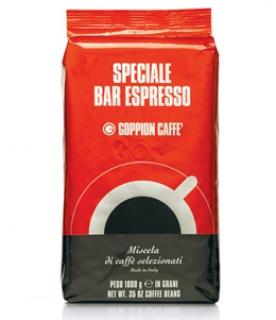 Goppion Speciale Bar Espresso (Гоппион Спешиал Бар Эспрессо), кофе в зёрнах (1кг), вакуумная упаковка с клапаном