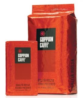 Goppion Caffe Qualita' Rossa (Гоппион Кафе Кволита Росса), кофе в зернах (1кг), вакуумная упаковка без клапана