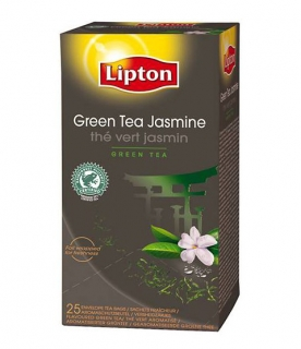 Чай Lipton Jasmin Green Tea зеленый чай с жасмином
