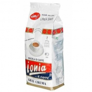 Ionia Gran Crema (Иония Гран Крема), кофе в зернах (1кг) и кофемашина с механическим капучинатором