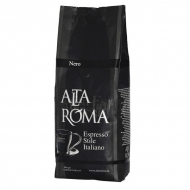 Alta Roma Nero (Альта Рома Неро), кофе в зернах (1кг), кофе в офис, вакуумная упаковка для 1группных кофемашин