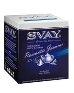 Чай Svay Romantic Jasmine (Чарующий жасмин) Для чайников (20 пирамидок по 4гр.)