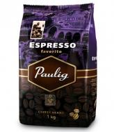 Кофе в зернах Paulig Espresso Favorito (Паулиг Эспрессо Фаворито) 1кг, вакуумная упаковка