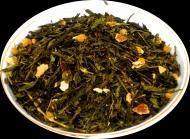Чай зеленый HANSA TEA Японская липа, 500 г, фольгированный пакет, крупнолистовой зеленый ароматизированный чай