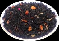 Чай черный HANSA TEA Земляника со сливками, 500 г, фольгированный пакет, крупнолистовой ароматизированный чай