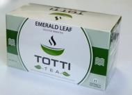 Чай зеленый TOTTI Tea Emerald Leaf (Изумрудный Лист) пакетированный в конвертах, 25 шт.
