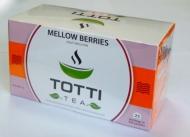 Чай фруктовый TOTTI Tea Mellow Berries (Сочные Ягоды) пакетированный в конвертах, 25 шт.