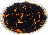 Чай черный HANSA TEA Айва с персиком, 500 г, фольгированный пакет, крупнолистовой ароматизированный чай, купить чай