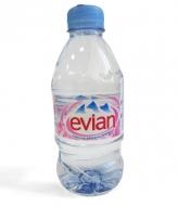 Минеральная вода Evian, 0,33л пластик