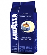 Lavazza Super Crema (Лавацца Супер Крема), кофе в зернах (1кг), вакуумная упаковка