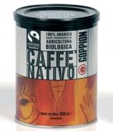 Goppion Caffe Nativo (Гоппион Кафе Нативо), органически чистый кофе в зернах (250г), металлическая банка.
