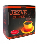 Кофе в пирамидках Jezve strong (Джезве стронг) 72 г, в коробке 12 пирамидок
