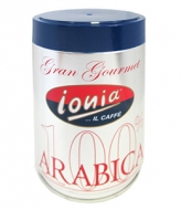 Ionia 100% Arabica (Иония 100% Арабика), кофе в зернах (250г), упаковка -жестяная банка